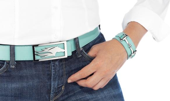 Dimacci Belt shown on model
