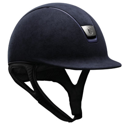 Samshield Premium Helmet Alcantara in Navy