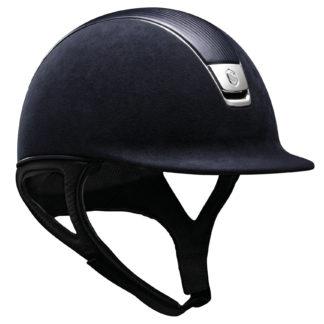 Samshield Premium Helmet Leather Top in Navy