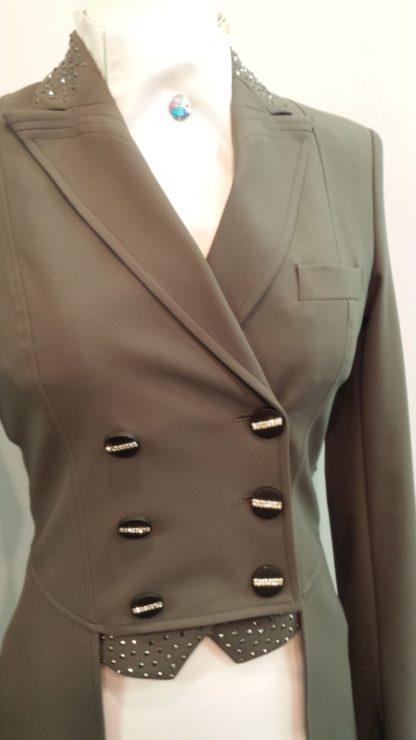 Equiline Dressage Shad Belly Marilyn Grey