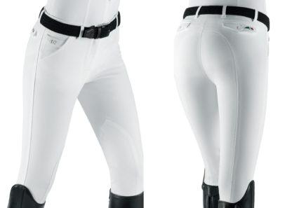 Equiline Boston Ladies Breeches - White