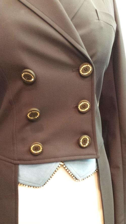 Equiline Custom Dressage Tails Front Waist