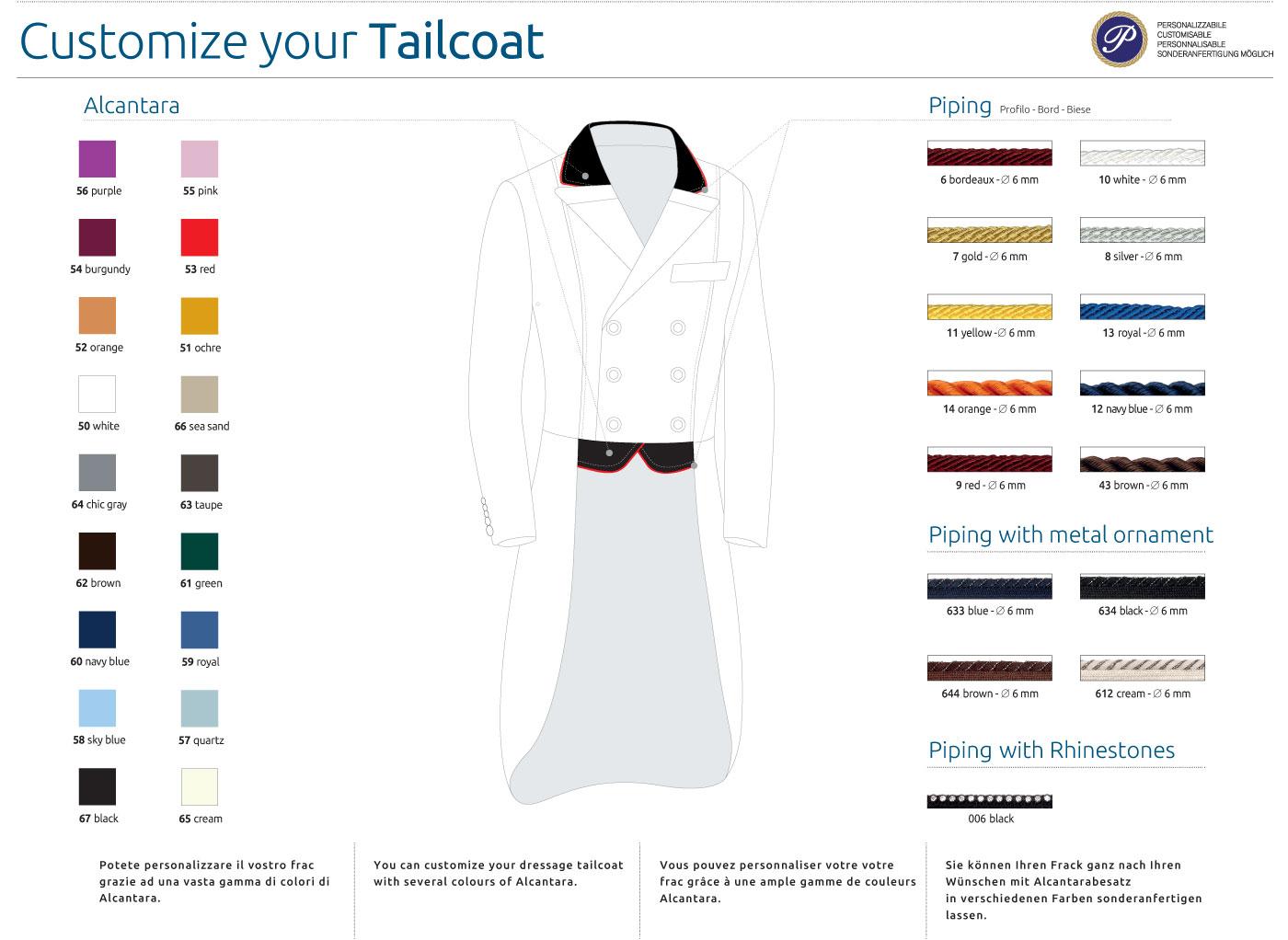 Custom Dressage Shadbelly