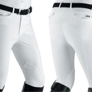 Equiline Men's Breeches Grafton in White