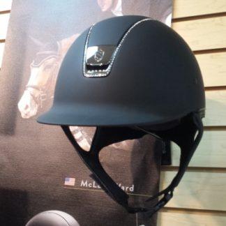 Samshield Shadow Matt 255 Swarovski Helmet - Front View