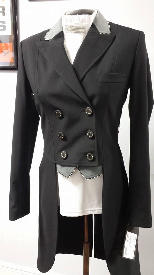 Custom Equiline Shadbelly in Black