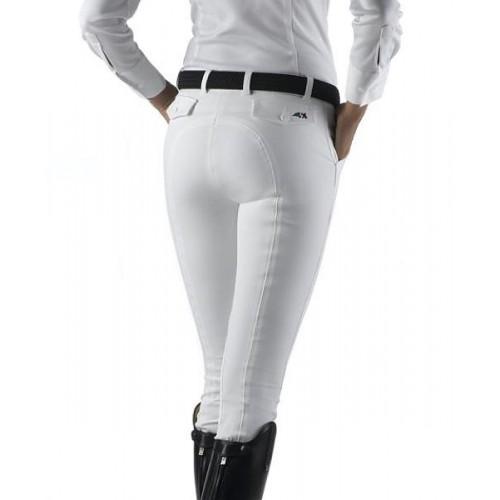 White Equiline Boston Ladies Breeches
