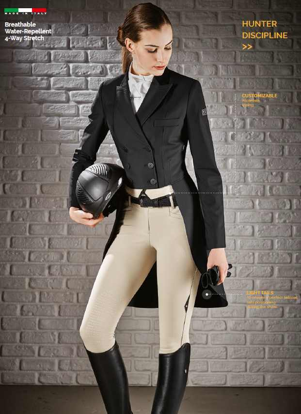Equiline Hunt Tailcoat Shadbelly Mackenzie Tacknrider