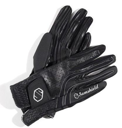 Samshield Riding Gloves in Black