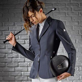 Equiline Ladies Show Jacket in Blue