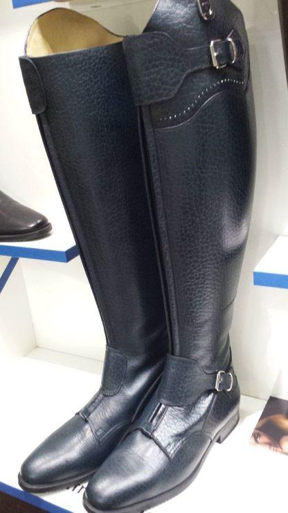 Navy Crocodile Polo Tucci Boots