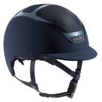 Dogma Chrome Light Helmet in Navy with Navy trim