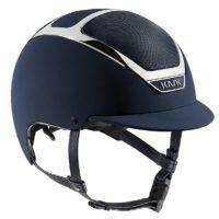 Dogma Chrome Light Helmet in Navy with Silver trim