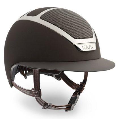 KASK Star Lady Helmet in Brown/Silver