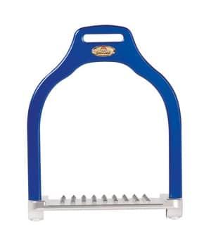 Makebe Wave Jump Stirrup in Blue