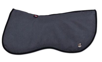 Ogilvy Memory Foam Jump Half Pad - Grey with Black Binding