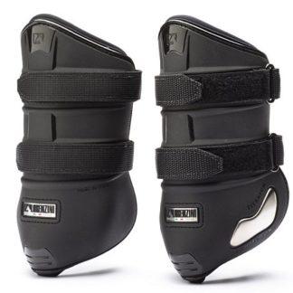Lorenzini Titanium Pressure Fetlock Boots in Black