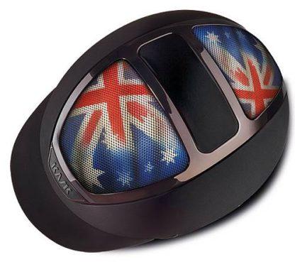 Dogma Chrome Light in Black with Australian Flag