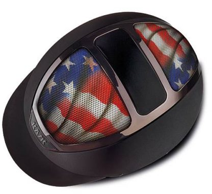 Dogma Chrome Light in Black with USA Flag