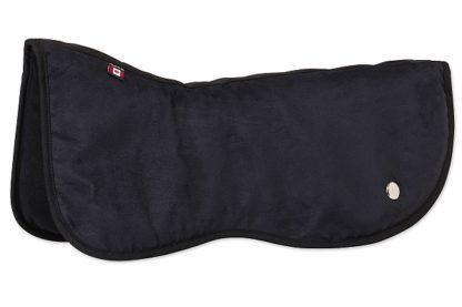 Ogilvy Dressage Memory Foam Half Pad - Black