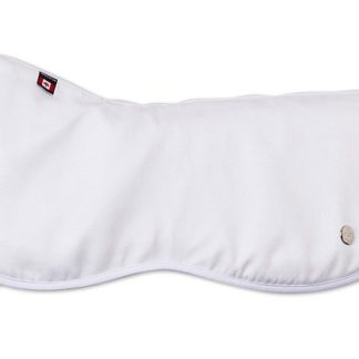 Ogilvy Dressage Memory Foam Half Pad - White