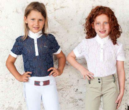Girls Lace Show Shirt - Sofia