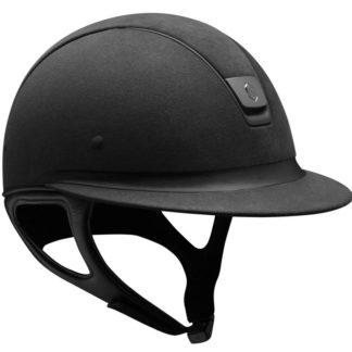 Miss Shield Alcantara Premium Helmet - Black