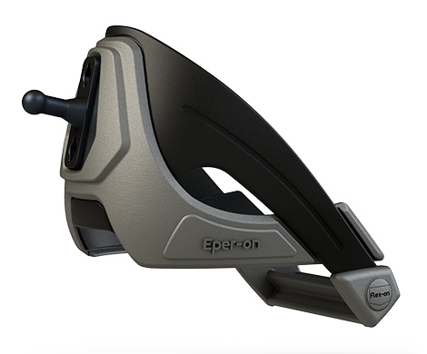 Flex On Interchangeable Snap-On Spurs - Grey