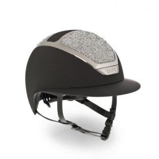 KASK Star Lady Helmet On The Rocks - Black/Silver