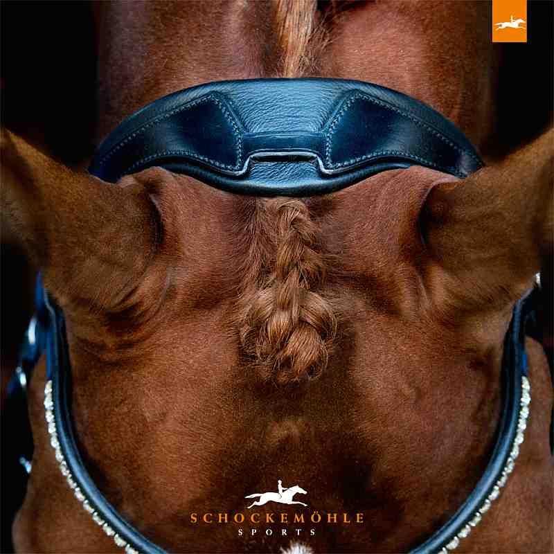 Schockemoehle Sports Anatomic Dressage Snaffle Bridle - Malibu