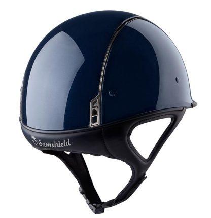 Samshield Shadow Race Glossy XC and Racing Helmet - Metallic Blue