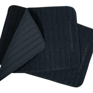 Quick Dry Light Leg Wraps 12 in x 18 in- Black