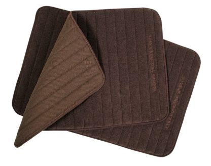 Quick Dry Light Large Leg Wraps - Chocolate