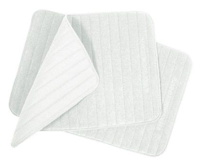 Quick Dry Light Large Leg Wraps - White