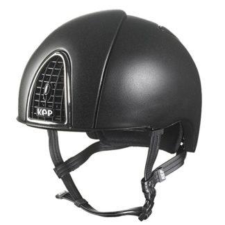 KEP Cromo Jockey Skull Cap Helmet with Cover