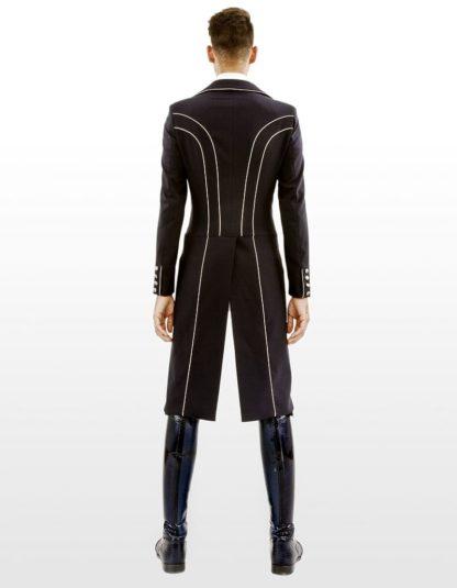 "Lotus Romeo Men's Dressage Shadbelly Tailcoat ""Carl"" - Back View"