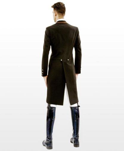 "Lotus Romeo Men's Dressage Shadbelly Tailcoat ""Champ"" - Back View"