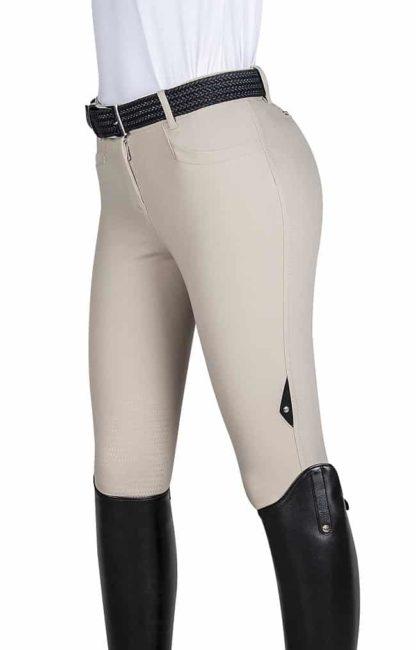 Equiline Ladies X Grip Ash Breeches - Beige
