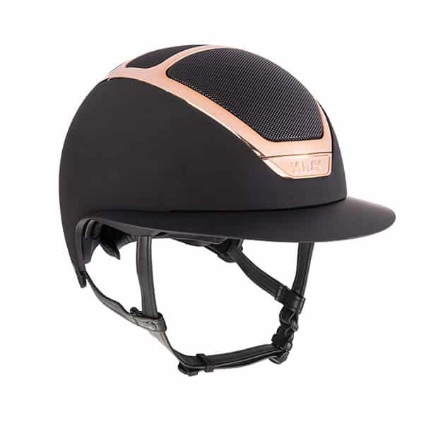 KASK Dogma Star Lady EveryRose Rose Gold Trim Helmet - Black