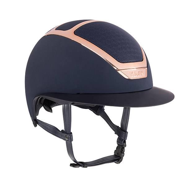 KASK Dogma Star Lady EveryRose Rose Gold Trim Helmet - Navy