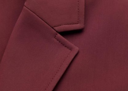 "Samshield Ladies Hunter Show Jacket ""Alix"" -Lapel Detail"