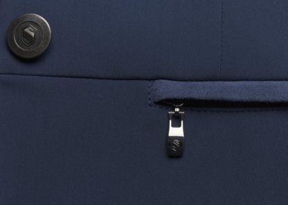 "Samshield Ladies Technical Show Jacket ""Victorine"" in Light Navy (Pocket Details)"