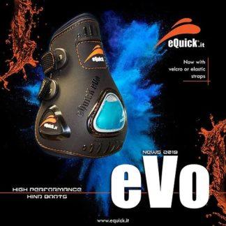 eQuick eUp Evo Fetlock Hind Performance Pressure Boots Black