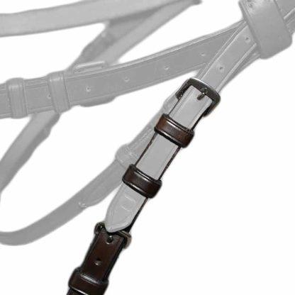 Double Bridle Adjustable Converter Cheek Pieces