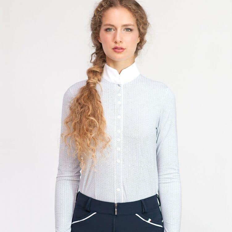 "For Horses Ladies Lightweight Show Shirt Long Sleeves ""Alzira LS"""