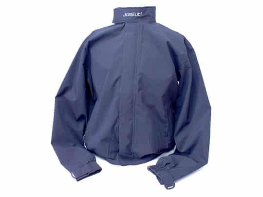 Jomiluti Unisex Waterproof Rain Jacket with Sealed Seams