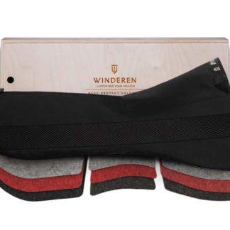 Winderen Saddle Half Pad Jumping Correction Comfort System with Felt Correction Shim Insert Panels