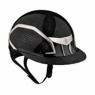 Samshield Miss XJ Wide Brim Carbon Fiber Equestrian Helmet
