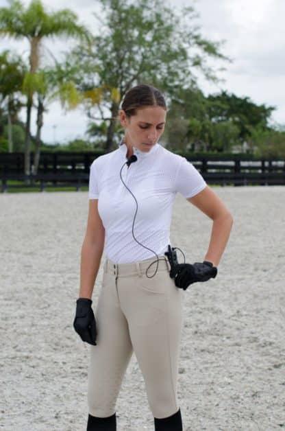 Kismet Equestrian Wireless 1 Way Audio Communication Training System