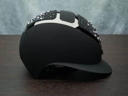 KASK Equestrian Dogma Star Lady Custom Helmet with Swarovski Pearls Limited Edition